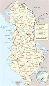 Albania On Europe Map