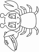 Lobster Coloring Pages Animals Ocean Printable Preschool Cliparts Library Clipart Clip Popular Kindergarten Advertisement Coloringhome sketch template