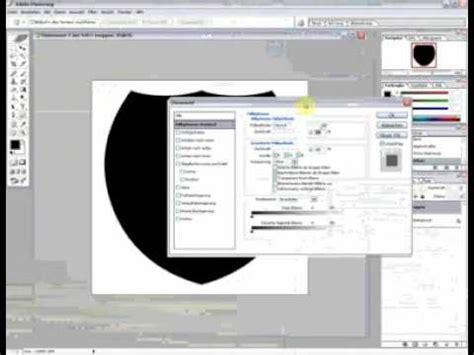 logo designen photoshop tutorial wappen 3d logo designen