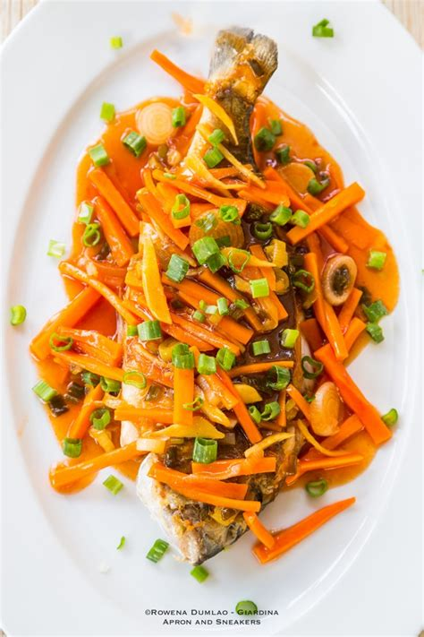 fish sweet sour asian lapu