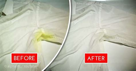 how to get rid of yellow sweat stains white clothes 2 simple but helpful methods