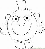 Mr Clever Coloring Pages Grumpy Coloringpages101 Cartoon Template sketch template