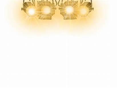 Stage Lighting Lights Clipart Transparent Clip String