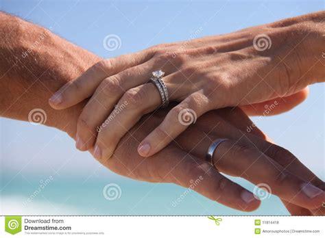 Miami Beach Wedding Rings 2 Stock Photo