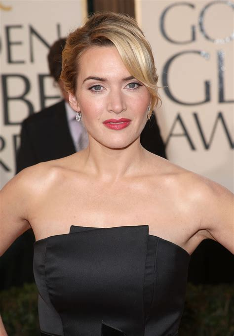 Kate winslet was born on 5 october in the year, 1975 and she is a very famous english actress. Kate Winslet 66th Annual Golden Globe Awards 2009 Black Satin Dress Online
