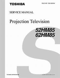 Toshiba 52hm85 62hm85 Sm Service Manual Download