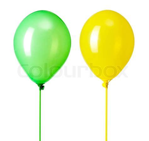 balloons isolated  white stock photo colourbox