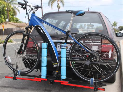 vehicle bicycle rack bicycle rack here s ours turbo bob s bicycle