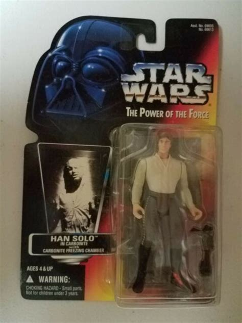 Star Wars - Han Solo in Carbonite - The Power of the Force ...