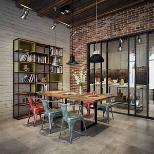 An Industrial Dining Room Style For The Stars