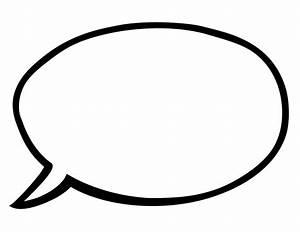 INSTANT DOWNLOAD Blank Speech Bubbles 8.5 X 11 by ...