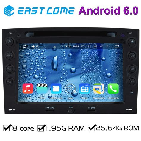 8 core octa core pure android 6 01 car dvd player autoradio for renault megane 2006 2007 2008