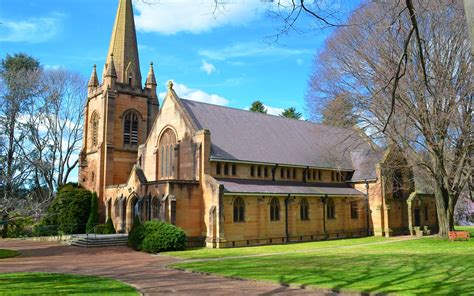 church  lithgow nsw wallpaper  background image