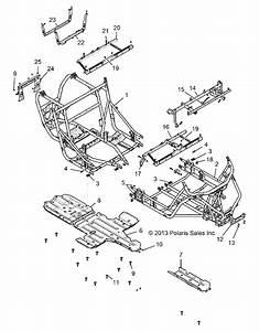 Dent    Scrape Frame On Rzr 1000 Turbo 4 Seater