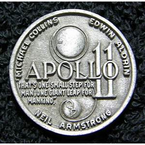 Apollo 11 First Lunar Landing Commemorative Coin