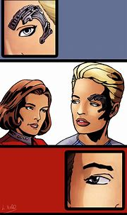 Janeway and Seven by twisted-illusion-666 on DeviantArt