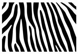 Zebra Skin Pattern Wall Decal - Beautiful Zebra Vinyl Decor
