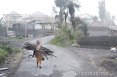 indonesian village editorial photography image