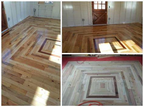 pallet floor   cottage    pallets