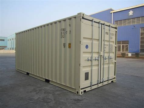 Storage Containers New 20' Cargo Shipping Container Ebay
