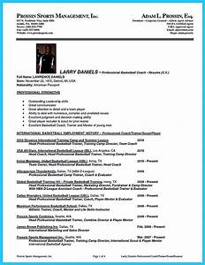 captivating thing for perfect and acceptable basketball With basketball coach resume template