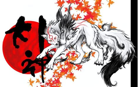 Japanese Wolf Art Japan Art, Wolf Goddesses,