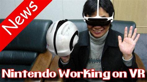 nintendo switch news vr headset leaked