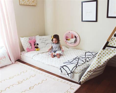 lit bébé au sol lit ras du sol pour chambres pour b 233 b 233 s enfants et adultes