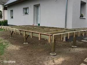 construire terrasse sur pilotis 5 terrasse en bois With construire terrasse sur pilotis
