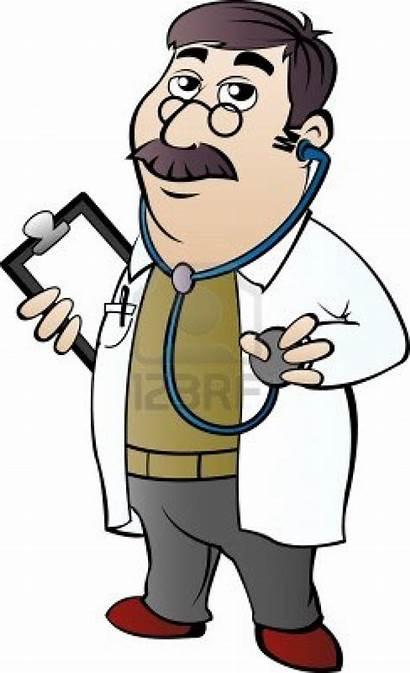 Doctor Cartoon Clipart Funny Consultation Clip Drug