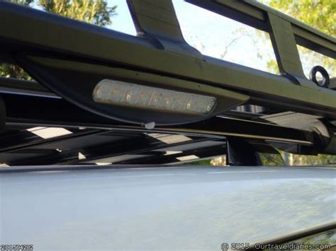 roof rack with lights roofrack side lights d c travel diaries