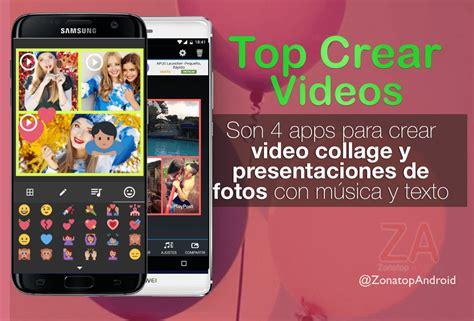 como hacer  video  fotos  musica de fondo  apps