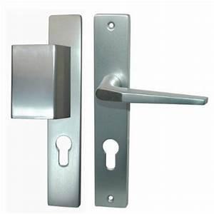 Quincaillerie de la porte quincaillerie securite for Porte d entrée alu avec poignee porte meuble salle de bain