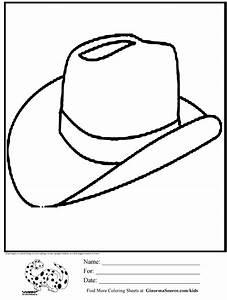 Cowboy Hat Coloring Page - AZ Coloring Pages