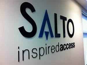 just signs and design With acrylic cut out letters