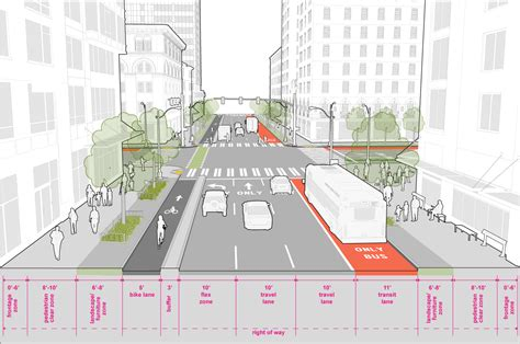 downtown seattle streets illustrated