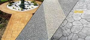 beton decoratif services revetement sols exterieur With ciment decoratif pour exterieur