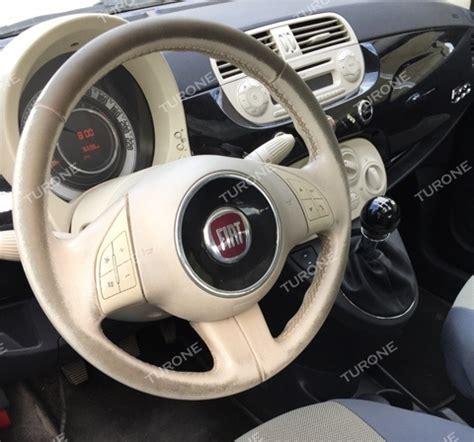 Rivestire Volante Pelle Ripristino Volante Fiat 500 Autocarrozzeria Turone Srl