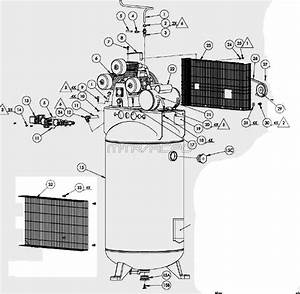 Kobalt Kla4508065  U0026 137603 Air Compressor Parts