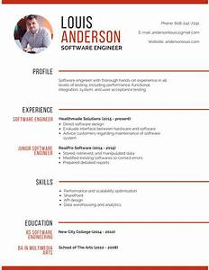 professional musician resume templates by canva With canva resume