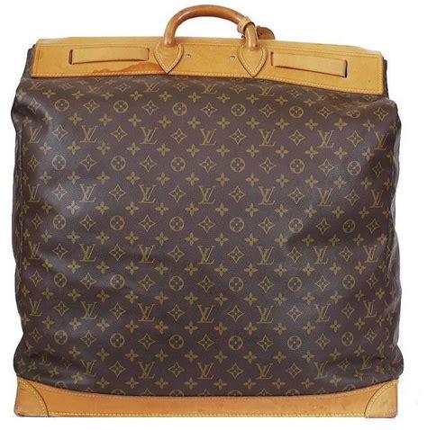 louis vuitton monogram giant steamer bag  travel bag