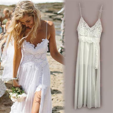 Womens Summer Dresses 2015 White Lace Maxi Dress Long