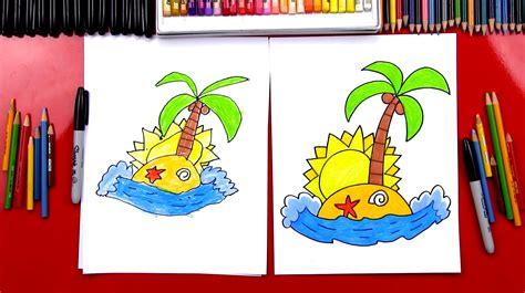 draw  island art  kids hub