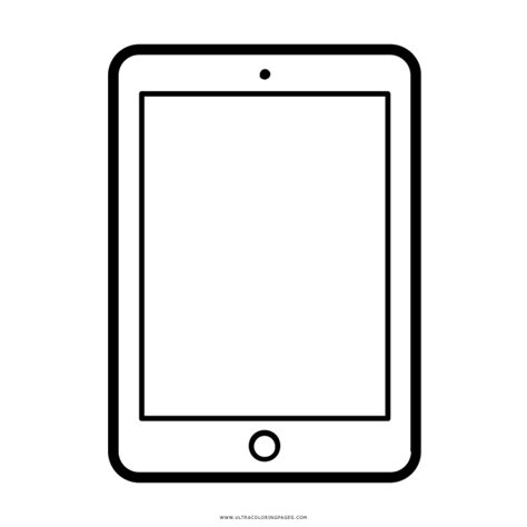 ipad coloring page  coloring collection