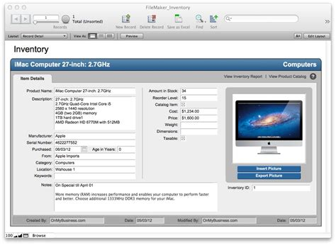 filemaker templates free filemaker pro starter solutions apps run on mac pc iphone