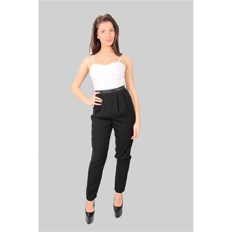 and black jumpsuit izzy black and white sleeveless jumpsuit from parisia fashion