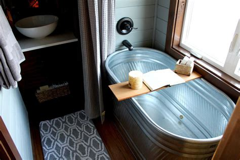 tiny house bathtub luxurious by tiny heirloom tiny living