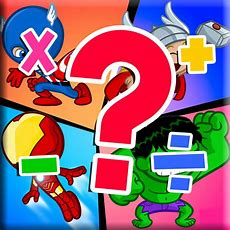 Kids Maths Hero Game For Avengers Version By Sureeluk