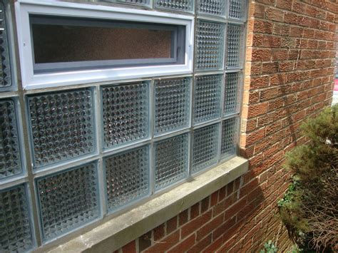 basement bathroom garage glass block windows columbus