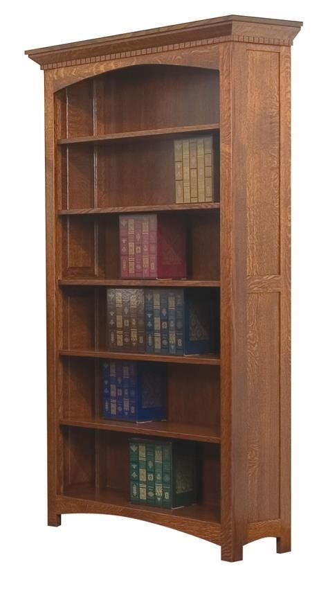 oakwood bookcase  dutchcrafters amish furniture